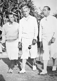 Gene Sarazen Tommy Armour Walter Hagen Golf Design Play Golf