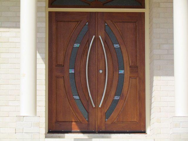 Wood front door entrance door designs for indian homes for House main double door designs