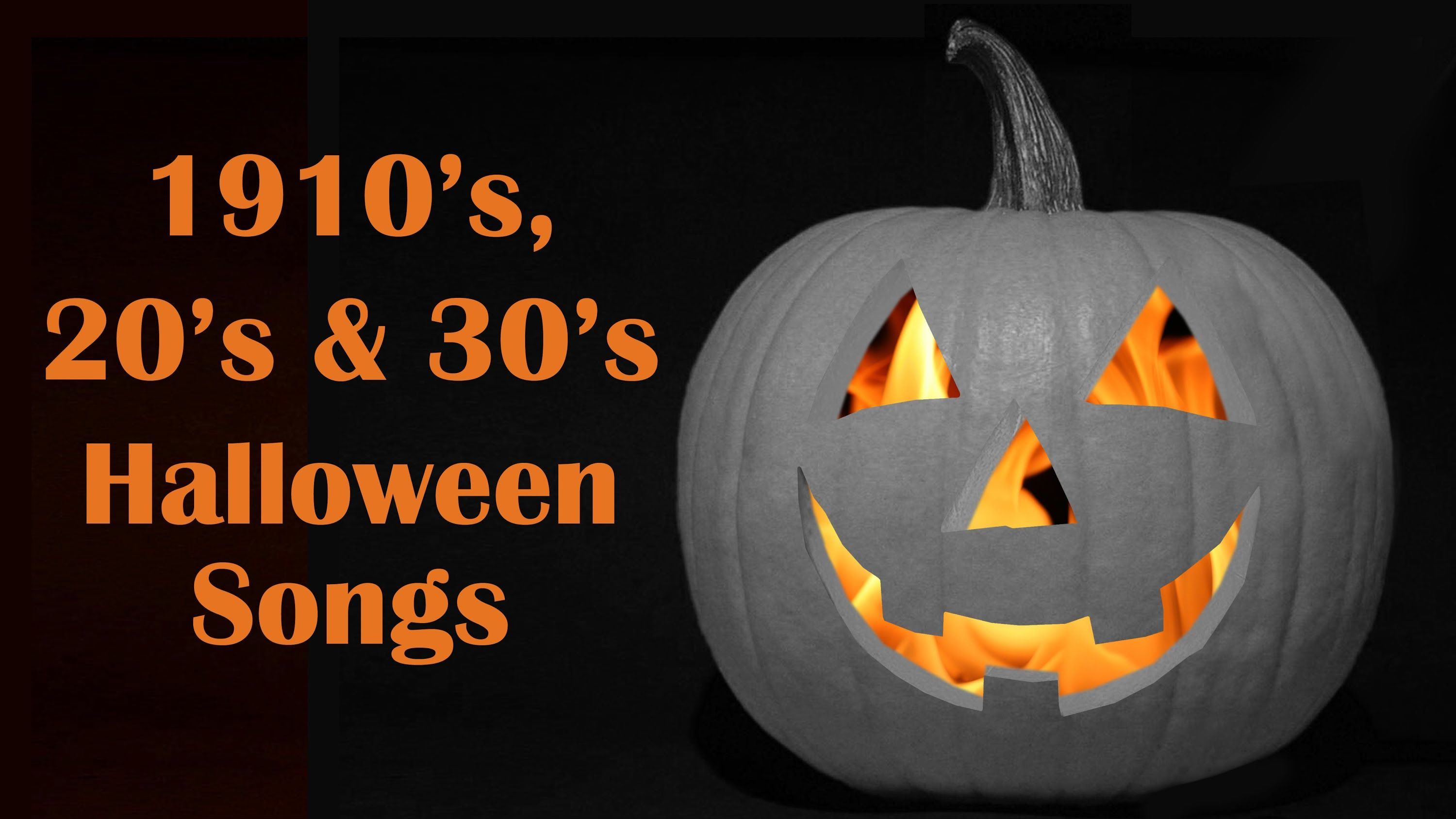 13 Vintage Halloween Hop Songs from the 50's & 60's Full