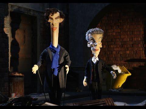 Newzoids | Doctor Who vs Sherlock | Benedict Cumberbatch | Peter Capaldi - YouTube