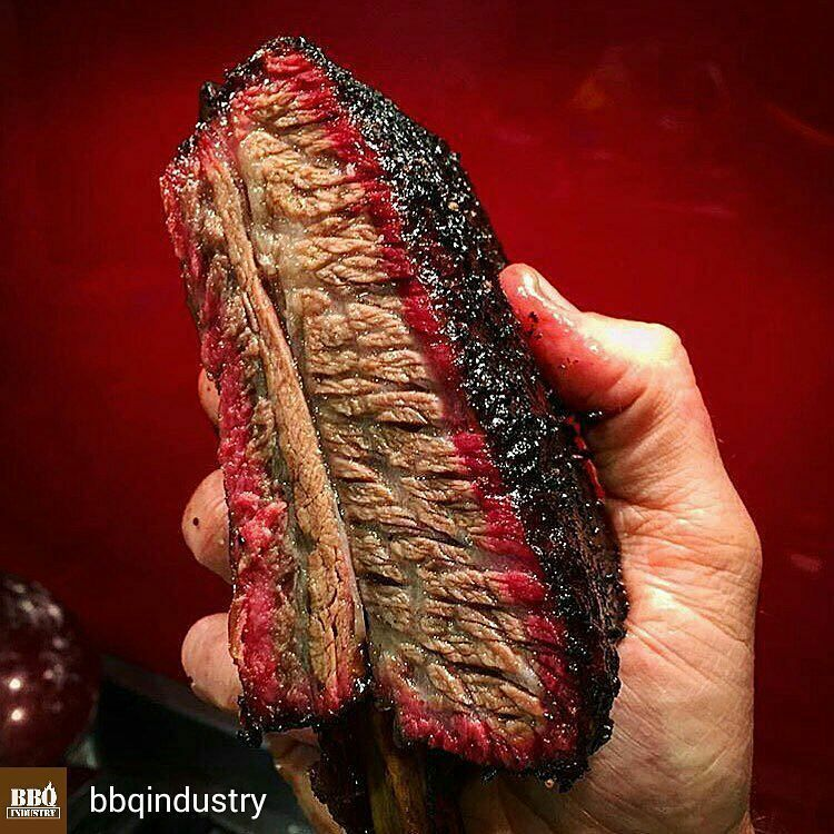 GrillJunkie - Grilling, BBQ and Burgers — @Regrann from @bbqindustry  -  Beef ribs! Do you...