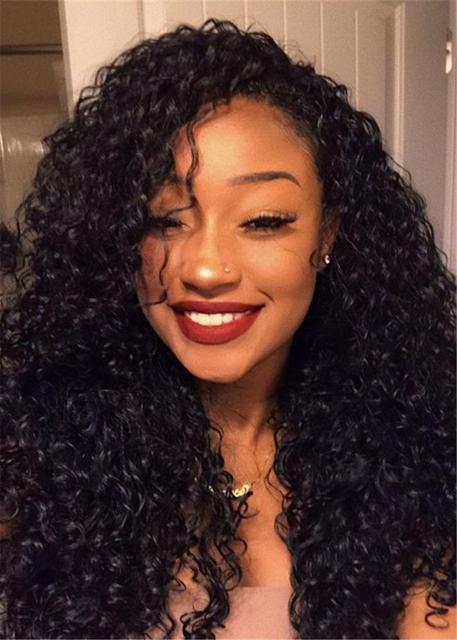 Deep Wave Hair Weave Bundles 3pcs Human Hair Extensions Deep Wave Hairstyles Hair Waves Curly Hair Styles