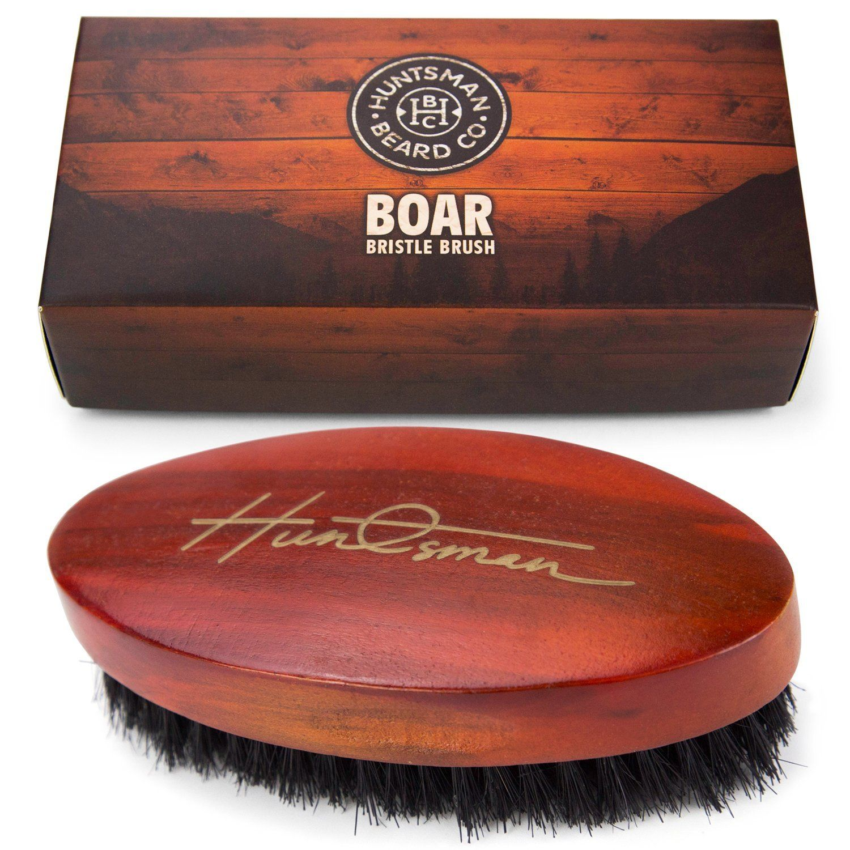 Boar Bristle Beard Brush Perfect For Balms and Oils