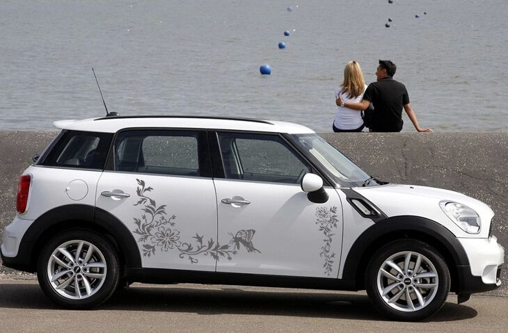Flower Car Decals Google Search Mini Cooper Pinterest Car - Flower custom vinyl decals for car