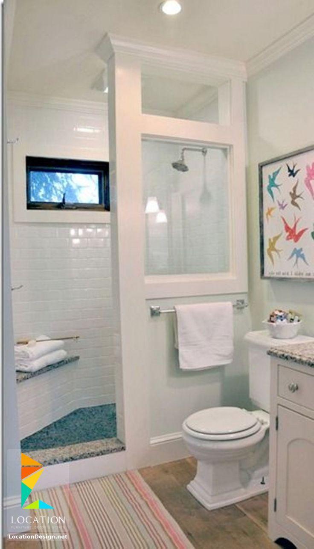 افكار و تصميمات حمامات مودرن صغيرة و بسيطة Bathroom Shower Design House Bathroom Small Bathroom Remodel