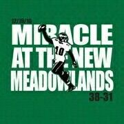I was there!!! This time we need a miracle at the Linc.