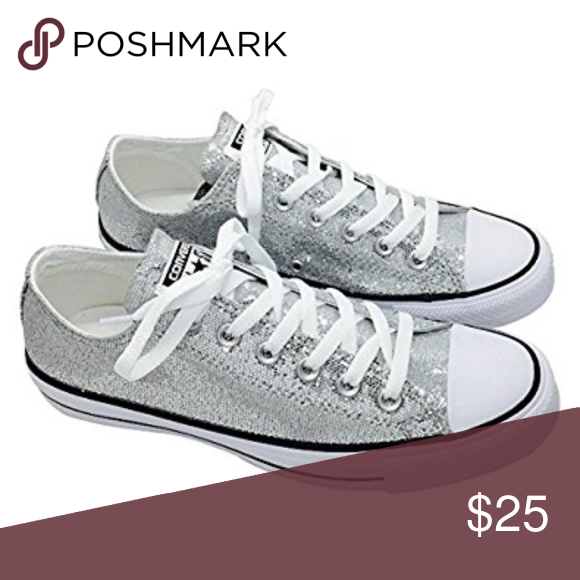 6746acbd70ca Converse Chuck Taylor All-Star Glitter Sneakers You will receive the exact  item as pictured