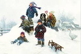 Картинки по запросу дети играют в снежки фото | Роберт ...