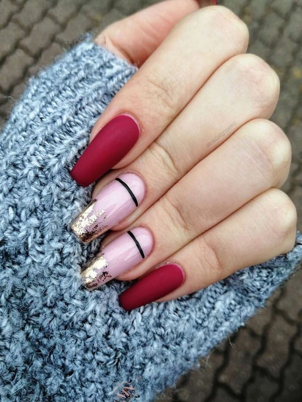 100 Easy New Year's Eve Nail Art Design Ideas Page 79 of