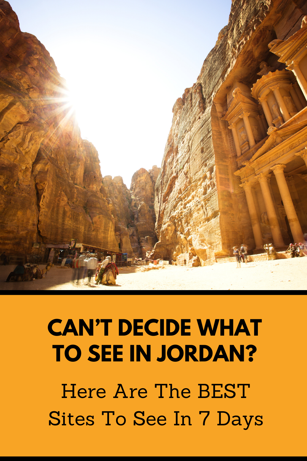 Your Best And Most Exciting 7 Day Jordan Itinerary Everyfurthermile In 2020 Jordan Travel Petra Travel Itinerary