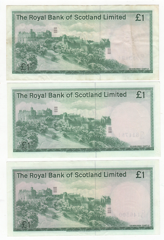 1981 Bank Of Scotland 1 Notes Bank Notes Pennies2pounds
