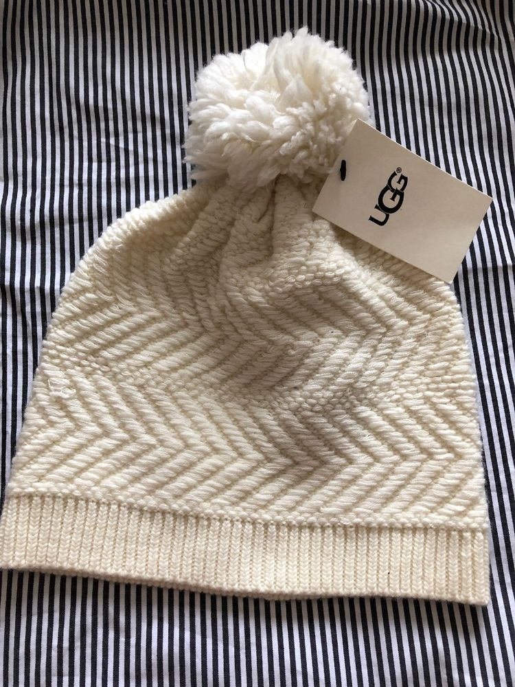 08405b067059b NWT UGG Womens winter hat - white  fashion  clothing  shoes  accessories   womensaccessories  hats (ebay link)