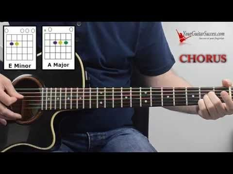 How To Play Everybody Hurts On Guitar By R.E.M - EASY Beginner ...