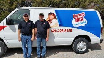 Tony Jones And David Hall Your Local Heaven S Best Carpet Cleaners Dodge City Ks Dodge City Tough Spots Kind And Generous