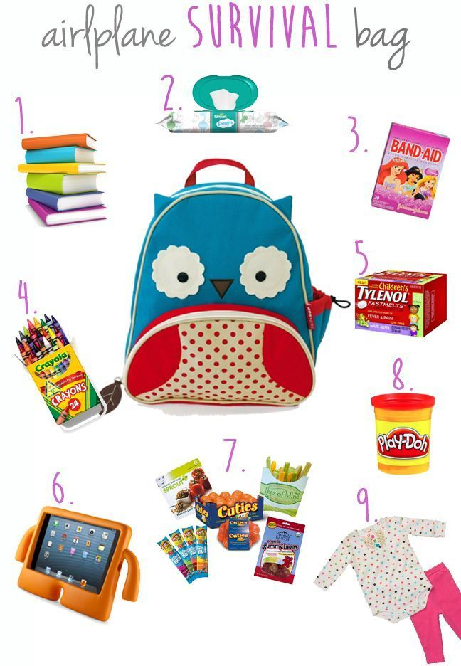 What To Pack When Flying With Toddlers Toddler Travel Flying
