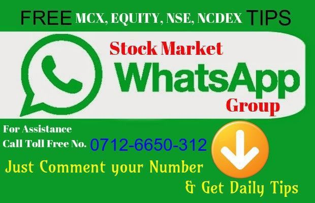 Join Our WhatsApp Group For FREE Stock Market Tips/ Sure Calls on