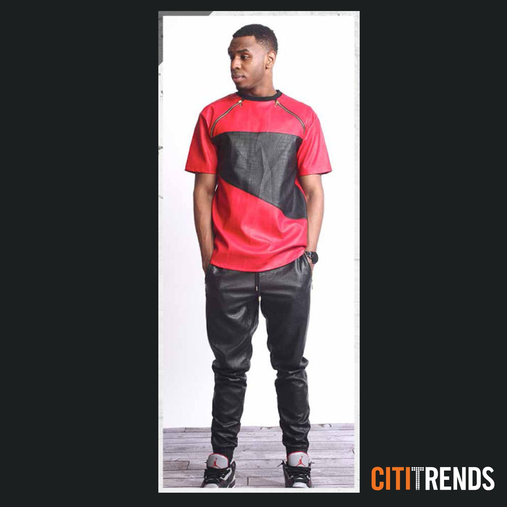 leather looks with s jogger are at citi trends