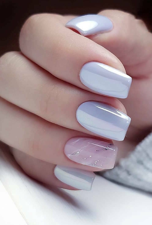 24 Elegant Acrylic White Nail Design For Short Square Nails In Summer Page 8 Of 24 Latest Fashion Trends For Woman Short Square Nails Square Nails Best Acrylic Nails