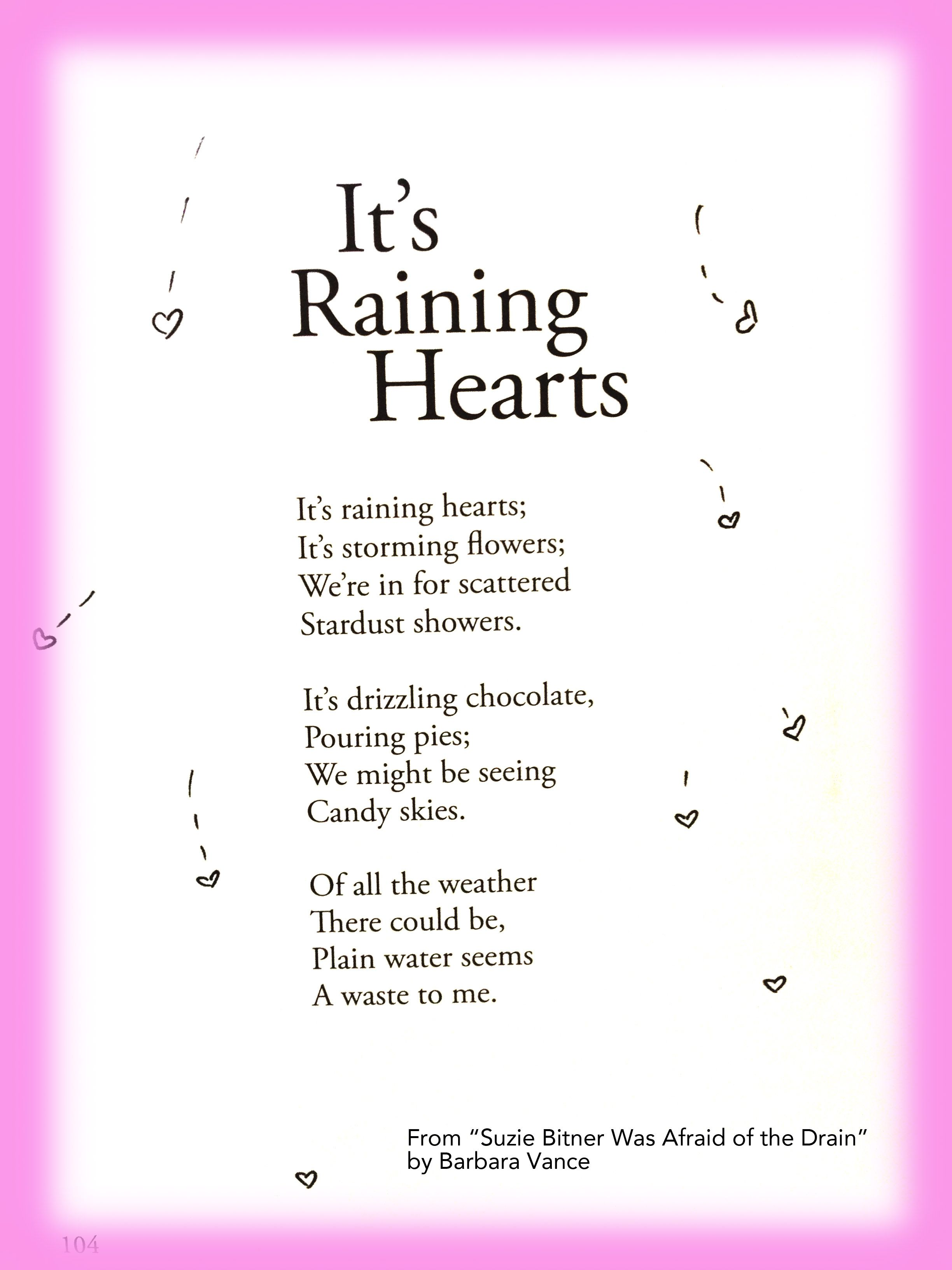 cute children s poem about weather and creativity Great for school