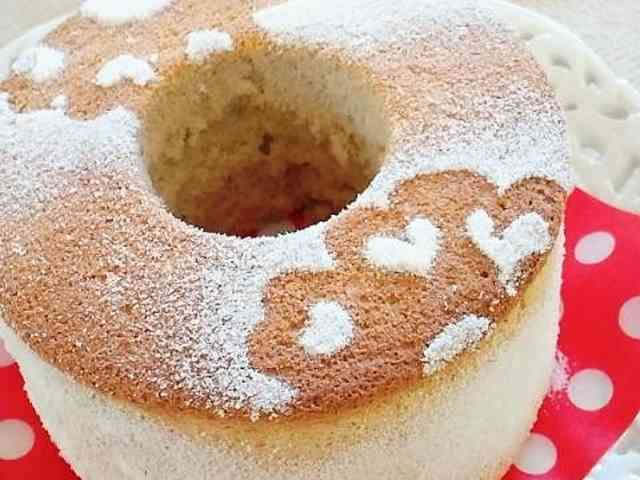 シフォン ケーキ 簡単