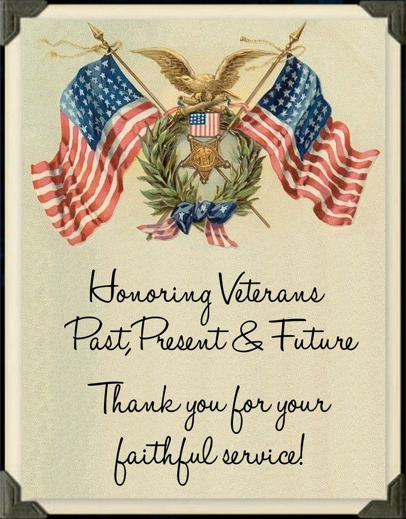 honoring veterans past present and future thanks you for your honoring veterans past present and future thanks you for your faithful service