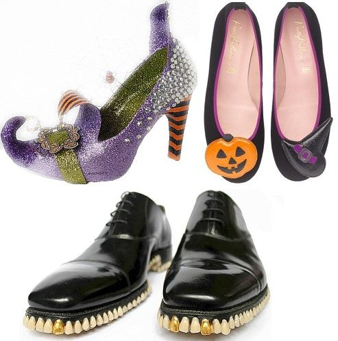 Halloween shoes ~ Scarpe per Halloween
