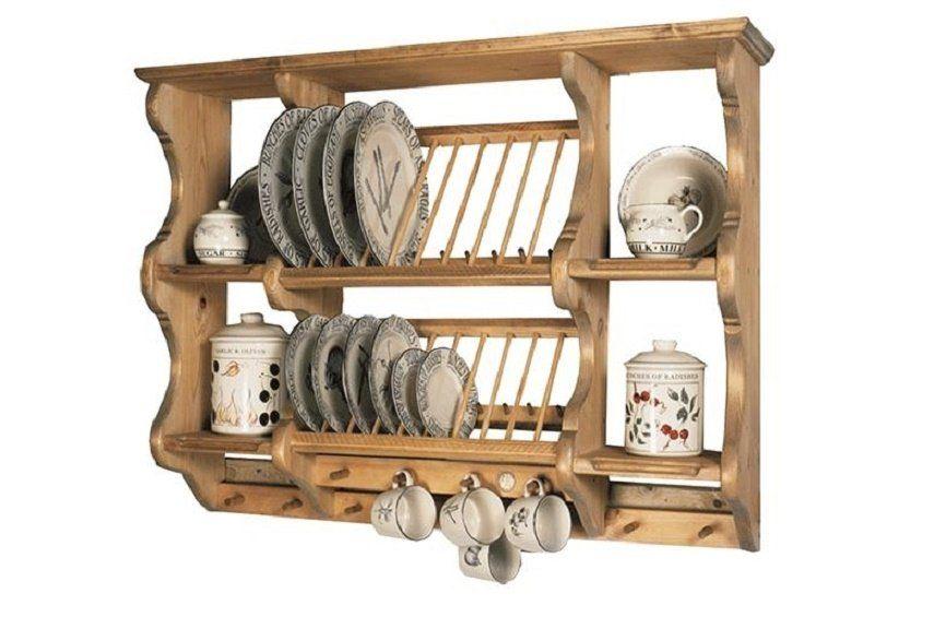 Penny Pine Plate Racks Shelves Decor
