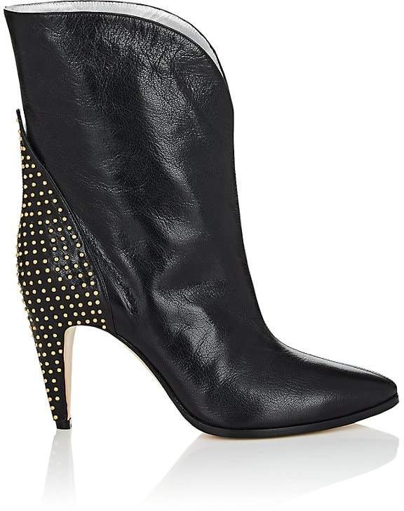 b330dc5feb4 Givenchy Women s Studded-Heel Leather Ankle Boots