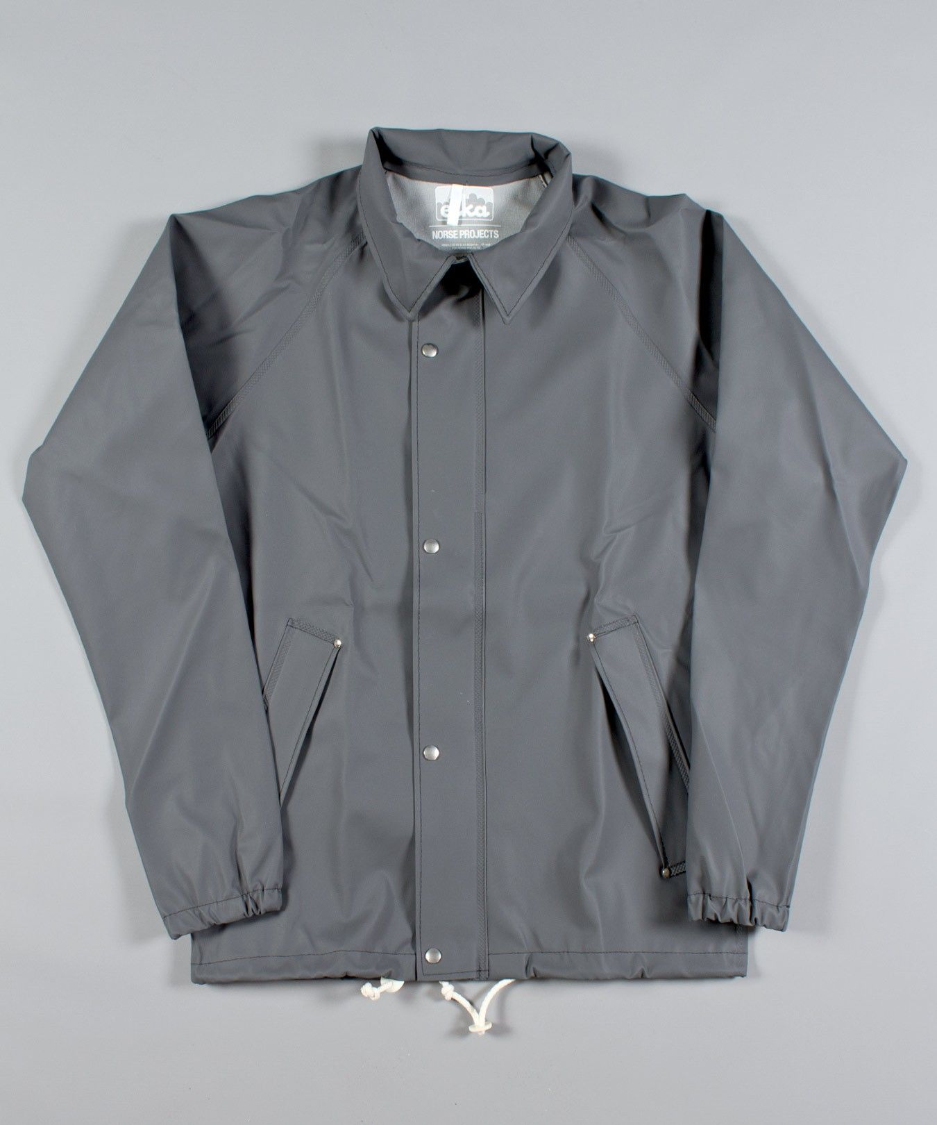 Norse Projects X Elka Coach Jacket In Grey Products We Love