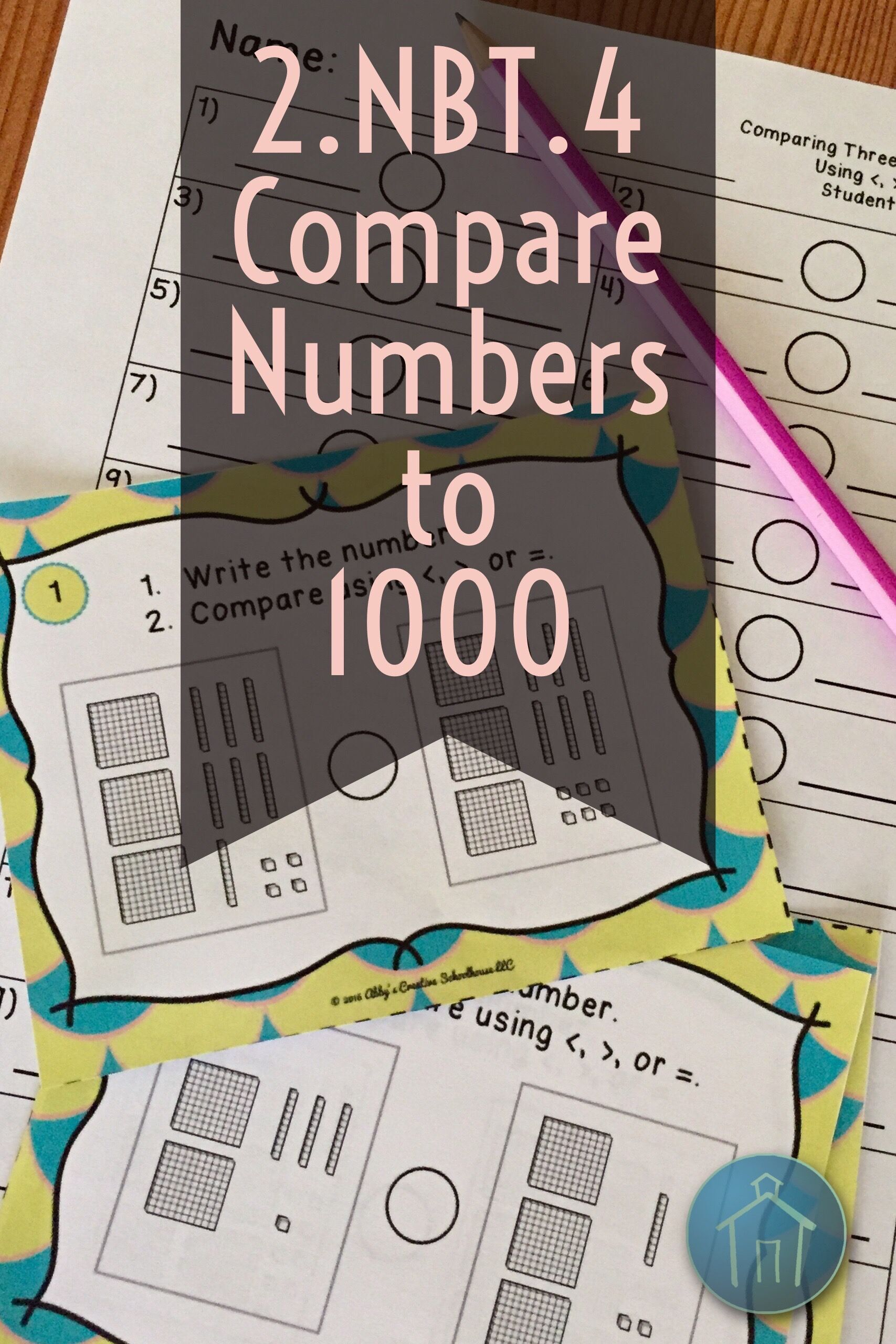 2nbt4 Task Cards Comparing Numbers To 1000 Expanded Form