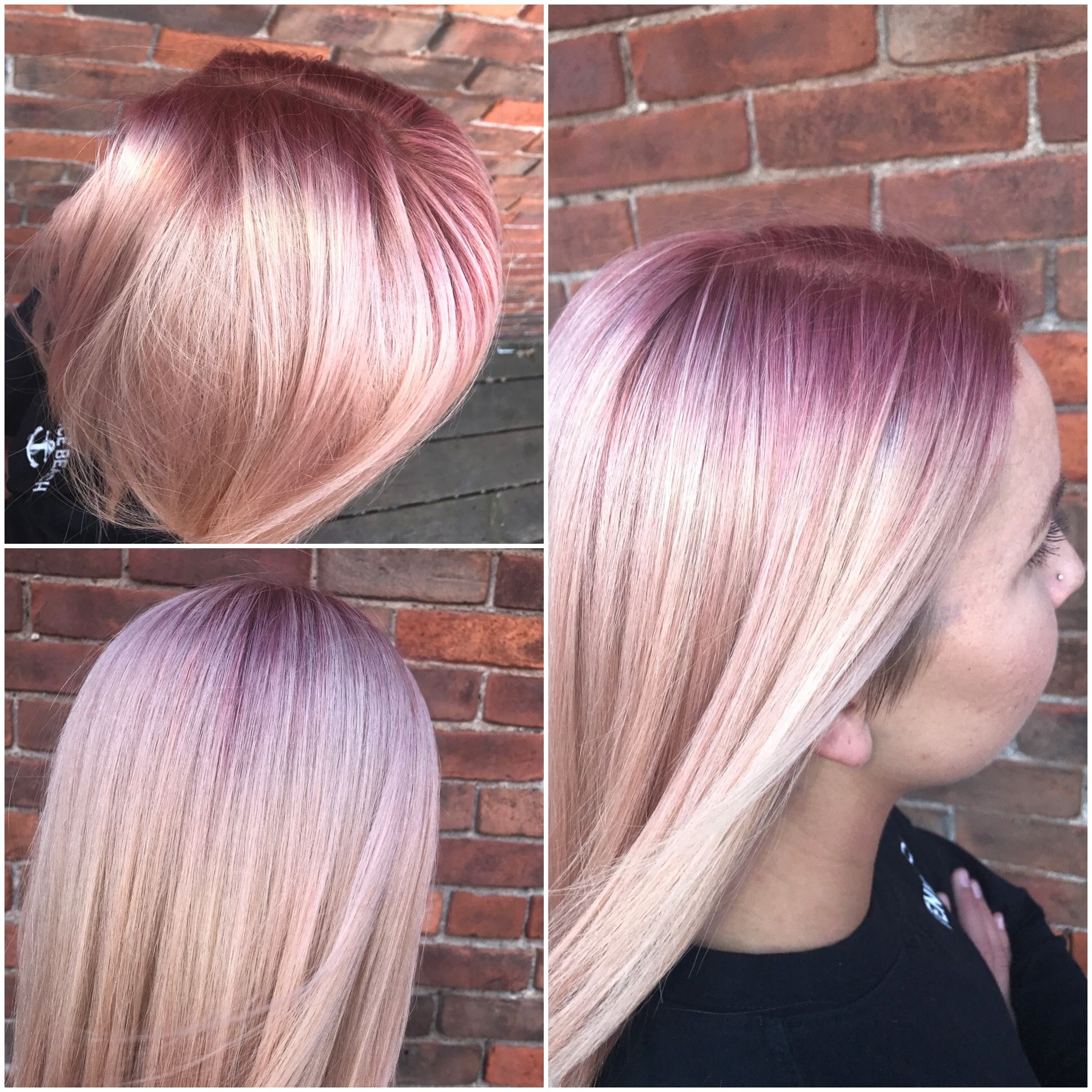 45++ Pink shadow root trends