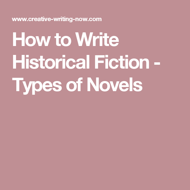 write historical fiction essay - the genre of historical fiction novels can be subdivided into many categories and often crosses genres, such as historical mysteries and romances the traditional definition of the historical fiction genre is fiction set in the past where the author is writing from research rather than personal.