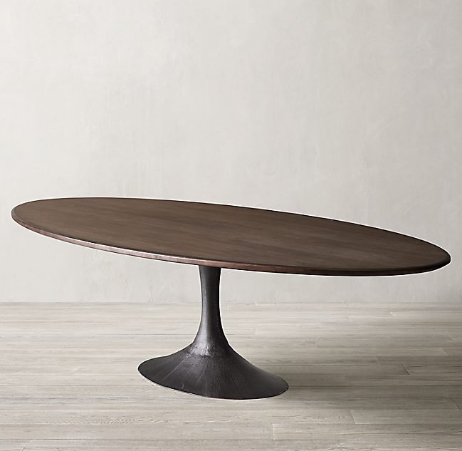 Aero Wood Oval Dining Table Oval Table Dining Dining Table