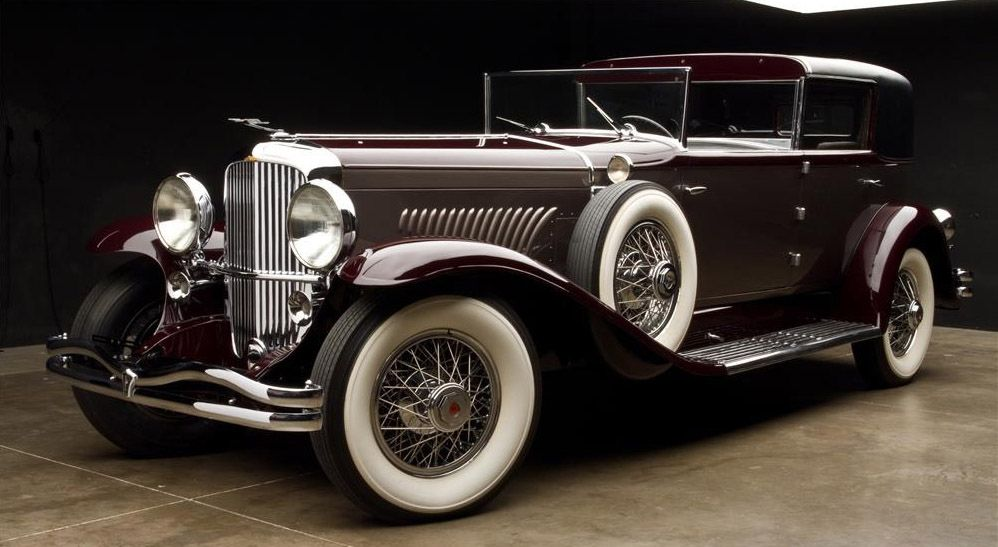 1931 Duesenberg Model J Touring Car with coachwork by the Derham ...
