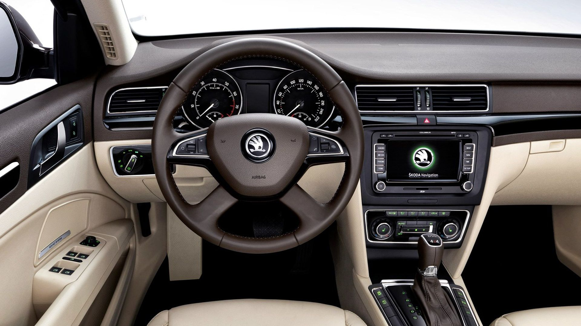 Skoda Superb Combi Interior Skoda Superb