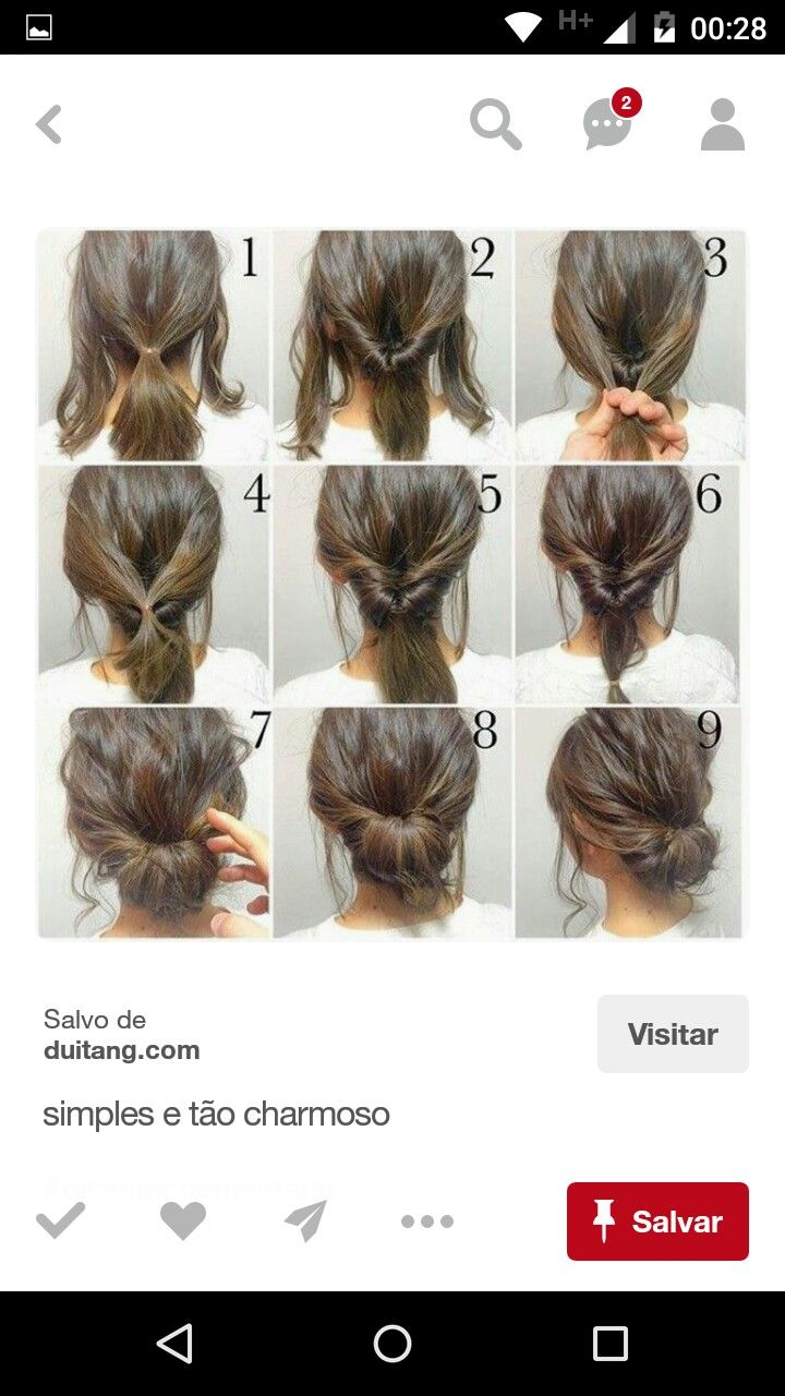 Pin by Karen Rogers on Updos | Pinterest | Diy hair, Updos and Hair ...