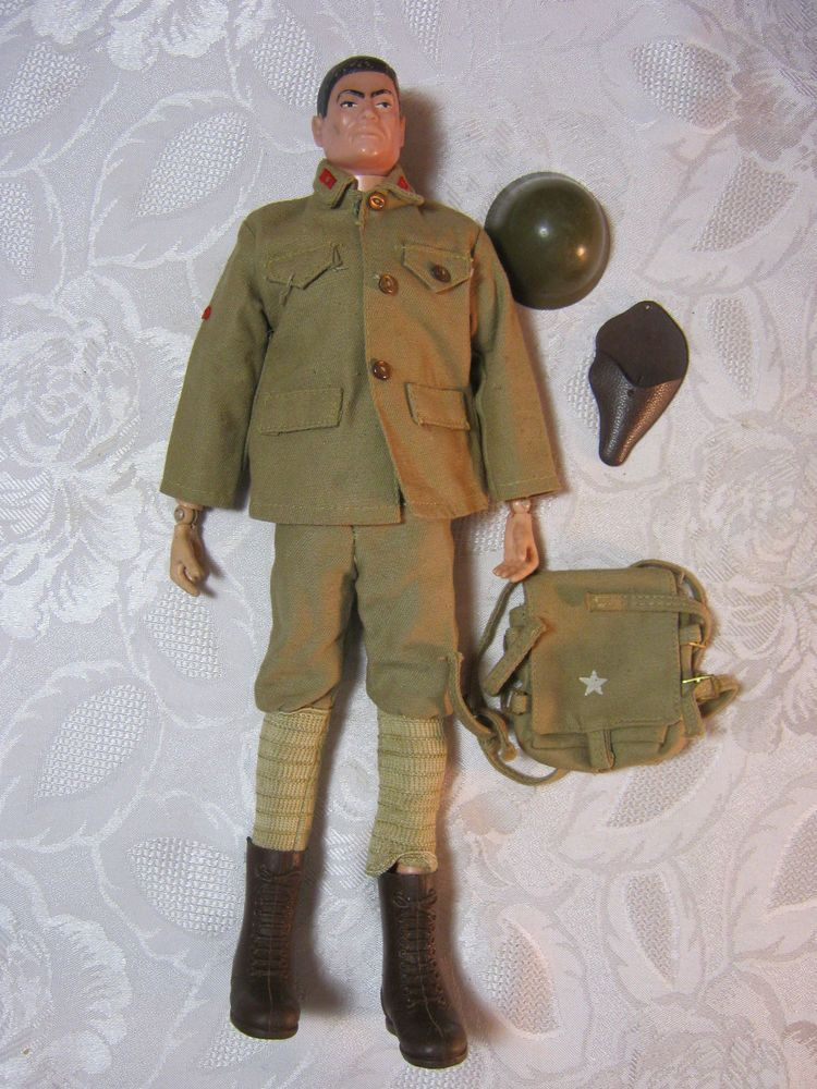 Gi Joe 1966 Japanese Imperial Soldier Uniform Original Vintage Figure T Gi Joe The Originals Joes