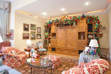 Christmas Interiors mediterranean-living-room
