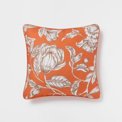 LINNEN KUSSEN MET BLOEMENPRINT - Kussens - Decoratie | Zara Home Netherlands
