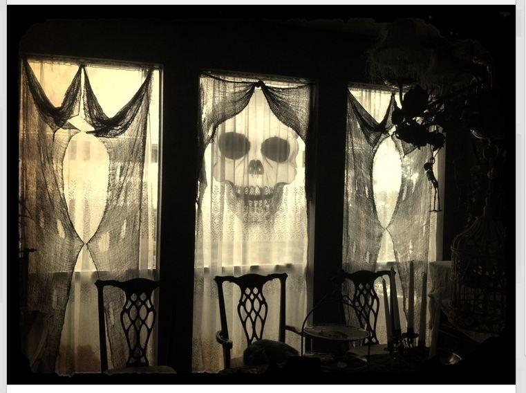 Lovely Halloween windows Haloween Pinterest Samhain - halloween window decorations