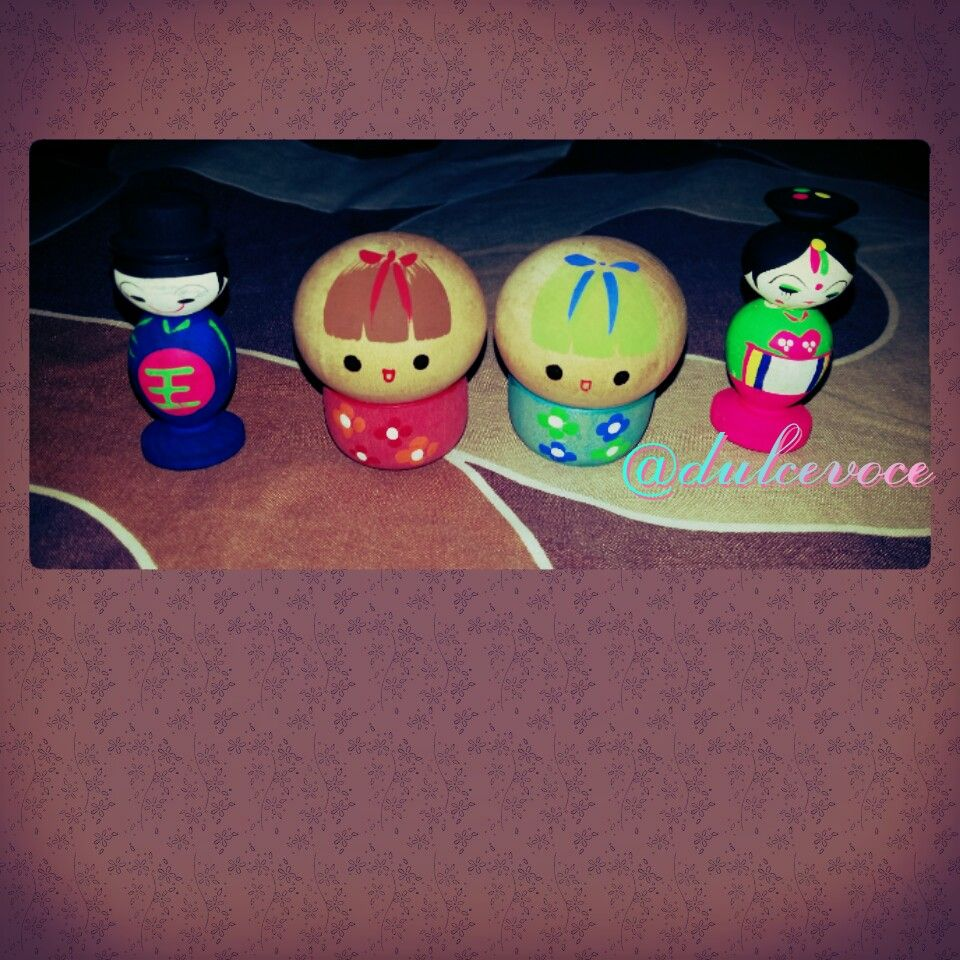 Asian Wooden Toys #japan #korea
