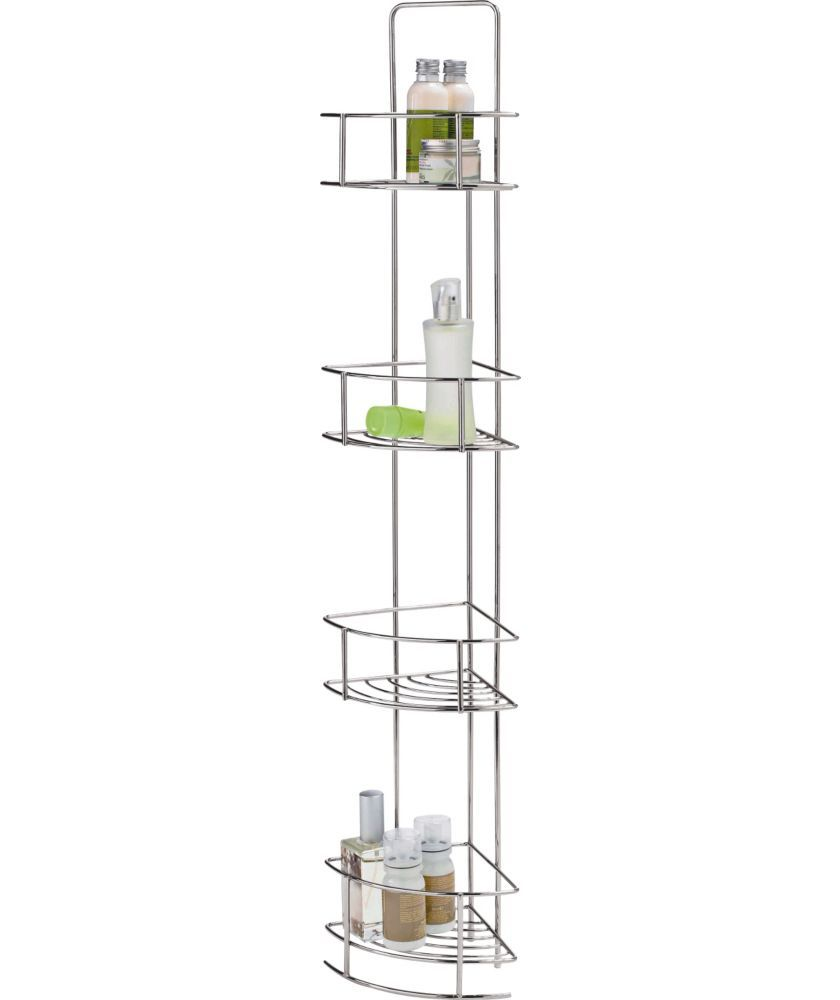 Buy Wire 4 Tier Corner Caddy - Chrome at Argos.co.uk - Your Online ...