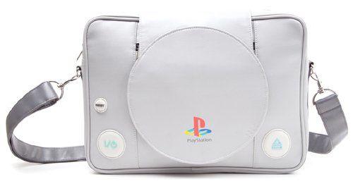 Playstation - Shaped Playstation Messenger Bag  Manufacturer: Sunset International BV Enarxis Code: 014962 #toys #bag #PlayStation