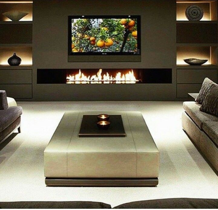 Home Theater Rooms, Living
