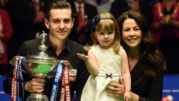 World champion Mark Selby delighted to match Davis, Hendry and O ...