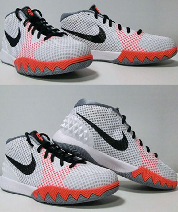 Nike Kyrie 1 GS White   Black – Orange  1457795446