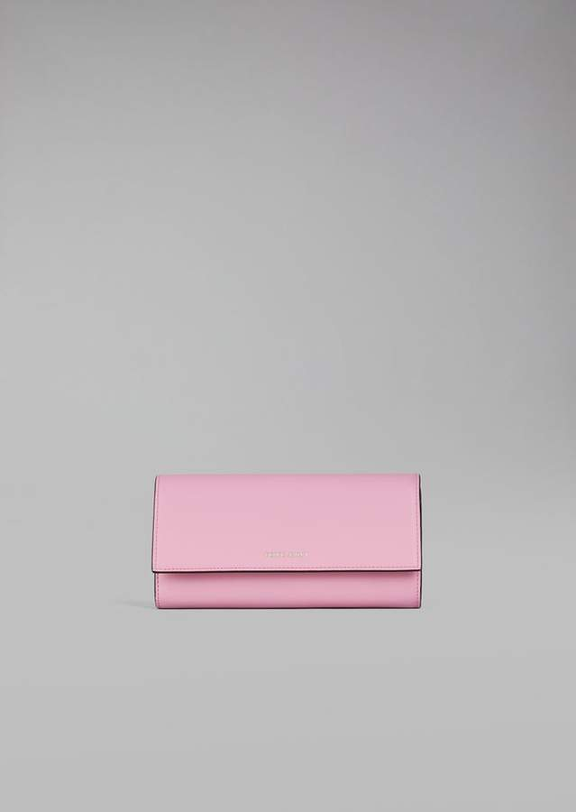 31cd1b82b5 Giorgio Armani Horizontal Leather Wallet | Products | Leather wallet ...