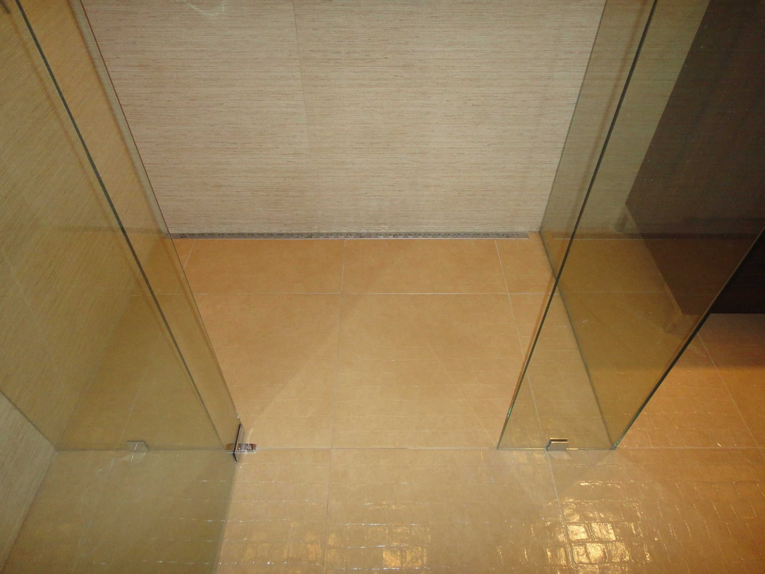 texture tile Tile Showers without Doors | low profile shower drain is gives your shower a modern edge