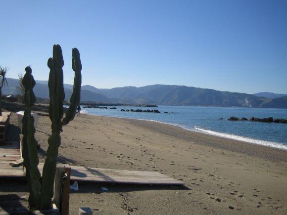 Sandstrand in Tonnarella