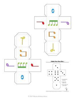 Rhythm Yahtzy By Musical Interactions Teachers Pay Teachers Teaching Music Piano Teaching Music Classroom